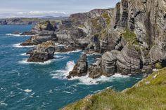 The rocky coastline at Mizen Head © Paddy Timm