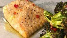 Salmon and Broccoli with Sweet Chile Vinaigrette Recipe | The Chew - ABC.com