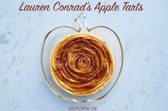 Lauren Conrad's Easy Apple Tarts