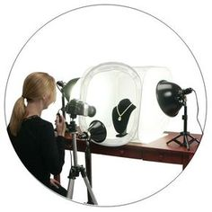 Wonderful, detailed tips for photographing jewelry from TableTopStudio, makers of the EZcube light tent.