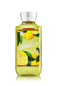 Sparkling Limoncello Shower Gel