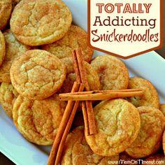 Totally Addicting Snickerdoodle Cookies | TheBestDessertRecipes.com
