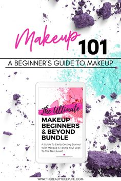 The Ultimate Makeup Beginners & Beyond Bundle is the perfect solution if you're looking to get started with makeup but you're tired of trying to figure it all out on your own!! This complete makeup guide (ebook) created by a makeup artist explains all the makeup basics for beginners from building your makeup kit, to makeup brushes, selecting makeup products, & tips to achieve a flawless makeup look!! #makeupbeginners #makeupforbeginners #makeuptipsforbeginners #makeupguide Makeup Basics, Basic Makeup, Makeup Guide, Beauty Makeup Tips, Makeup Kit, Beauty Secrets, Makeup Brushes, How To Apply Eyeshadow, How To Apply Makeup