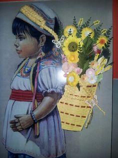 Niña florista