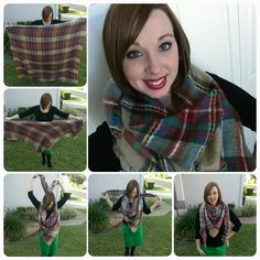 How to Wear a Blanket Scarf. Modern Modesty