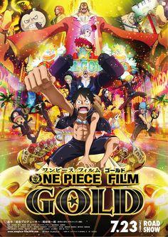 Revelados cuatro miembros mas del reparto de la película ONE PIECE FILM GOLD.
