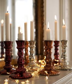 Gorgeous christmas candles