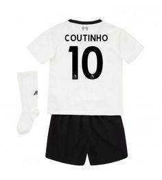 Liverpool Mario Philippe Coutinho 10 Bortaställ Barn 17-18 Kortärmad ef2307e2e665b