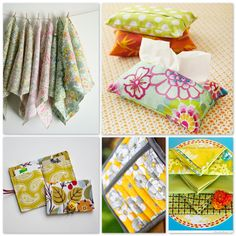 Mother's Day gifts to sew tutorials