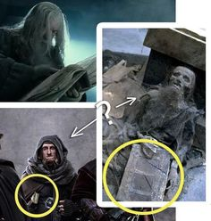 Ori keeping a journal in the Hobbit and in the Lord of the Rings... (It is Ori's writing in Book of Mazarbul that Gandfalf reads to the Fellowship.) If you look you can see Ori writing in it, in the background when Bilbo tells Gandalf that he won't go. :'-(