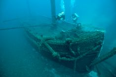 Shipwrecks on Lake Huron