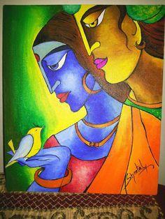 RK modern Art Acrylic on Canvas http://www.facebook.com/SheetalPaintings