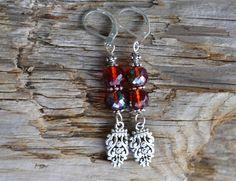 Crystal Earrings Swarovski Crystal Earrings Drop by LKArtChic