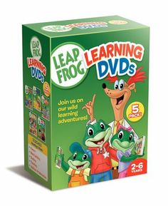 Leapfrog Learning DVDs 5-Pack (Talking Words Factory / Talking Words Factory II / Learn to Read at the Storybook Factory / Letter Factory /Math Circus) DVD ~ Artist Not Provided, http://www.amazon.com/dp/B000EHQU1W/ref=cm_sw_r_pi_dp_DKulqb10B0G4R