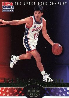 RARE 96/97 UPPER DECK USA BASKETBALL RECORD JOHN STOCKTON UTAH JAZZ MINT