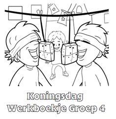Koningsdag Werkboekje Groep 4