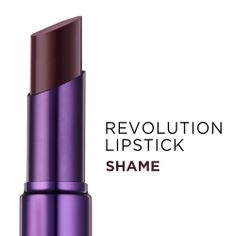 Revolution Lipstick by Urban Decay (Shame).  Can't wait to get mine! Just ordered!