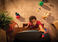 On average, one child dies every two weeks when a TV or furniture falls onto him or her. Helpful information from the Consumer Product Safety Commission on anchoring furniture to prevent these accidents.