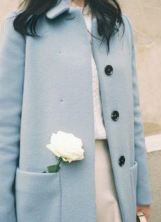 blue coat #pixiemarket #fashion @pixiemarket