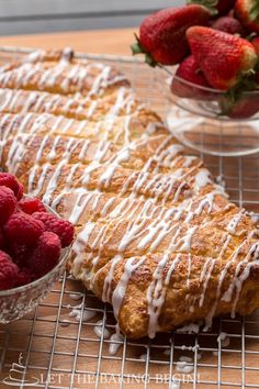 Almond Cream Puff Pastry Braid