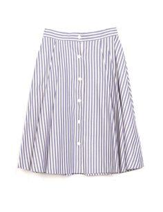 Falda midi de #Zara.