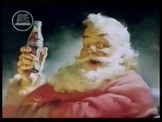 Papai Noel - Garoto Propaganda da Coca Cola.