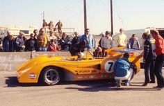 Peter Revson McLaren M8F Riverside 1971