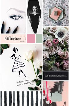 blog boss moodboard by Georgie St Clair