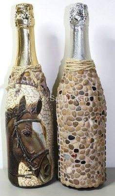 How To Use Waste Bottles For Decoration Bottle Art  Infinite Beauty From Recycling Waste  Bottle Art