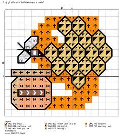 alfabeto ape e miele: S