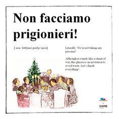 Learn #italian with #ShortFoodMovie!
