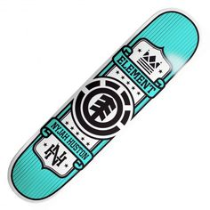 "Board Element Nyjah Huston Represent skateboard 8"" 65€ #element #elementskate…"