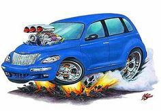 PT Cruiser Decal | eBay Pt Cruiser Accessories, Bmw X5 E53, Chrysler Pt Cruiser, Mopar Or No Car, Art Cars, Muscle Cars, Classic Cars, Decals, Caricatures