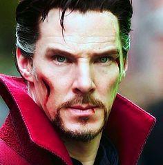 The Stephen Strange stare-oh my!