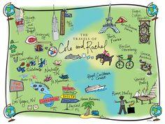 travels of rachel+cole