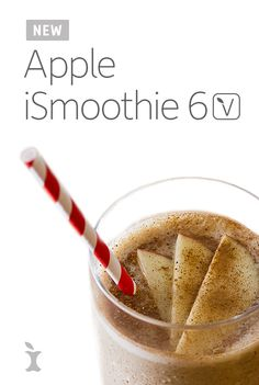 New Apple iSmoothie 6! Celebrating the launch of our #BestSmoothie contest, this smoothie is everything you love about apple—in a smoothie! This combo delivers a delicious combination of fiber, protein, & healthy fats to start your day. 6 Staples of every smoothie: almond butter, ice, milk-alternative, Vega One, fruit & your fave spice! #VegaSmoothie