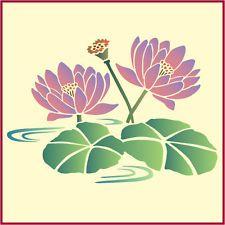 koi and lotus stencil - Google Search