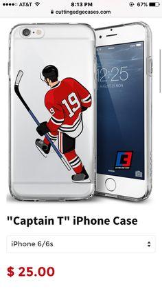 "Chicago Blackhawks phone case ""captain T"""