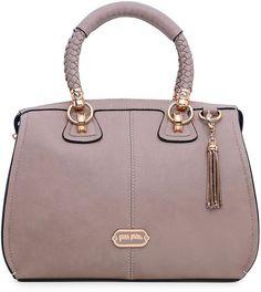 1dca33cd14a Folli Follie K Vintage Handbag in Purple (taupe)   Lyst Prada Handbags, Hobo