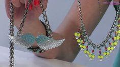 ▶ Customiser ses bijoux avec du vernis à ongles - Vidéo Dailymotion #DIY #collier #necklace
