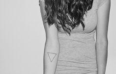 Triangle Forearm Tattoo