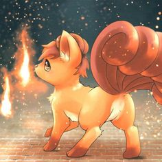 """942 Likes, 7 Comments - Pokemon (@pokemonlifeofficial) on Instagram: """"Vulpix"""""""
