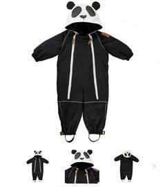 Cute Panda Jacket