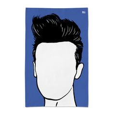 'Morrissey' Tea Towel by Bold & Noble £10