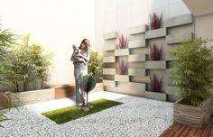 jardin zen para interiores | inspiración de diseño de interiores