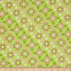 Winter Warmth Flannel Small Floral Snowflakes Light Green from @fabricdotcom  Designed by Silvia Dekker for Wilmington Prints, this soft double napped (brushed on both sides) flannel fabric is perfect for quilting and apparel. Colors include pink, white and green.
