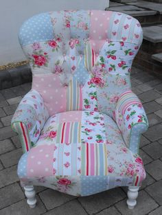 Patchwork chair : )