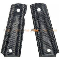 Wood Grip Cover for Tokyo Marui 1911 Airsoft GBB (No.0279)