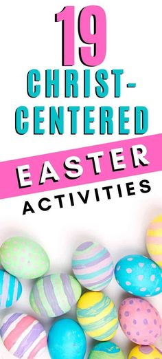 19 Christ Centered Activities that are fun while also emphasizing the Christ in Easter! crafts christ centered 19 Christ Centered Easter Activities for Families Easter Activities For Toddlers, Easter Crafts For Kids, Easter Ideas, Easy Toddler Crafts, Easy Crafts, Easter Traditions, Family Traditions, Easter Books, Easter Story