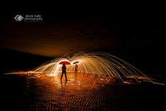 Light painting Dualing | Some light painting on Gormanston b… | Flickr